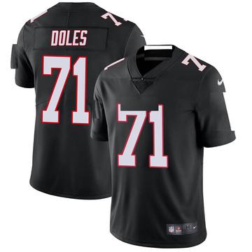 Youth Nike Atlanta Falcons Tommy Doles Black Vapor Untouchable Jersey - Limited