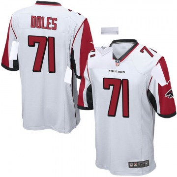 Youth Nike Atlanta Falcons Tommy Doles White Jersey - Game