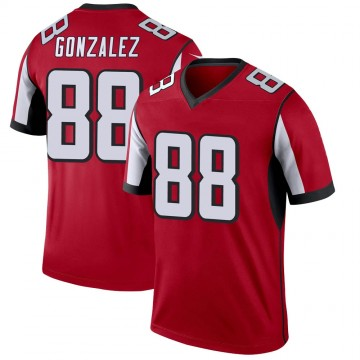 Youth Nike Atlanta Falcons Tony Gonzalez Red Jersey - Legend