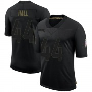 Youth Nike Atlanta Falcons Tyler Hall Black 2020 Salute To Service Jersey - Limited