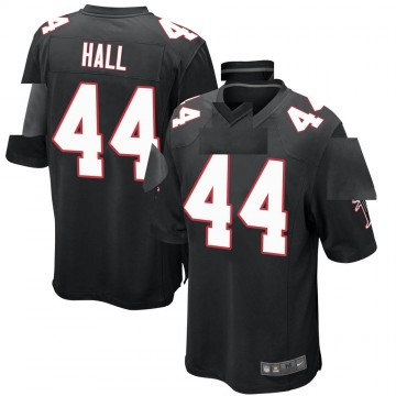 Youth Nike Atlanta Falcons Tyler Hall Black Alternate Jersey - Game