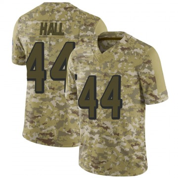 Youth Nike Atlanta Falcons Tyler Hall Camo 2018 Salute to Service Jersey - Limited
