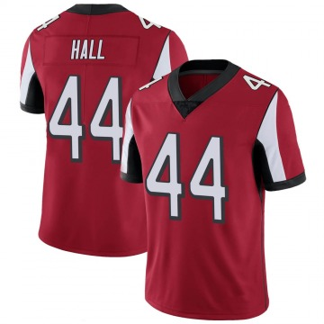 Youth Nike Atlanta Falcons Tyler Hall Red 100th Vapor Jersey - Limited