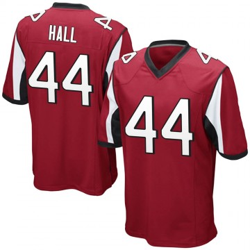 Youth Nike Atlanta Falcons Tyler Hall Red Team Color Jersey - Game