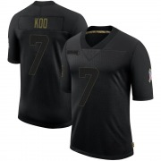 Youth Nike Atlanta Falcons Younghoe Koo Black 2020 Salute To Service Jersey - Limited