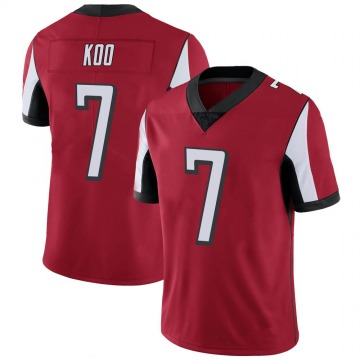 Youth Nike Atlanta Falcons Younghoe Koo Red 100th Vapor Jersey - Limited