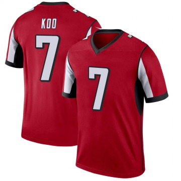 Youth Nike Atlanta Falcons Younghoe Koo Red Jersey - Legend