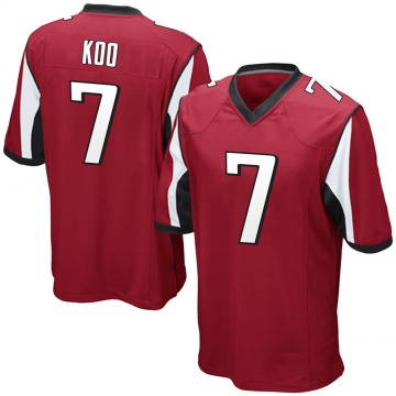 Youth Nike Atlanta Falcons Younghoe Koo Red Team Color Jersey - Game