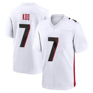 Youth Nike Atlanta Falcons Younghoe Koo White Jersey - Game