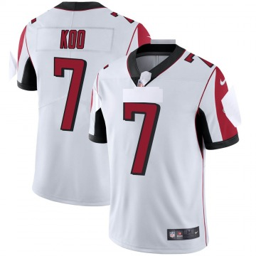 Youth Nike Atlanta Falcons Younghoe Koo White Vapor Untouchable Jersey - Limited